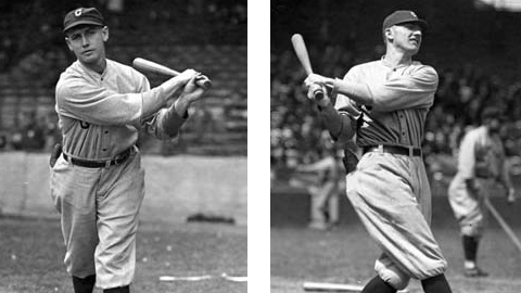 Platooned in right field, in 1920 and 1921 together they generated a batting average better than .300 and an on-base percentage of almost .400.