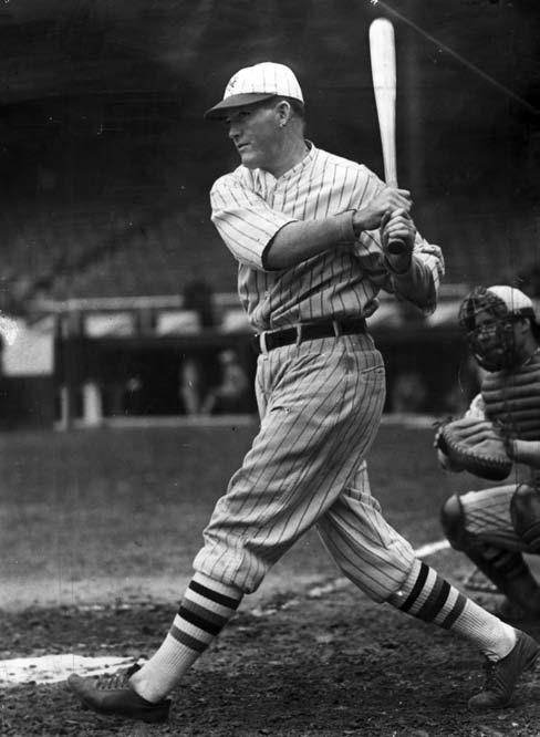 "A contemporary of Ruth, he remarked that ""starting with him, batters have been thinking in terms of how far they could hit the ball, not how often."""