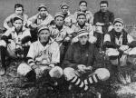 Frank Anderson (front row, left) was captain and All-Southern second basemen that year.