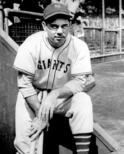 Led the New York Giants to three pennants and one World Series title in ten years as manager.