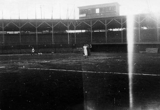 A typical Class D ballpark of the 1950s, home of the Valley Rebels of the Georgia–Alabama League.