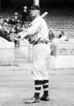 """Shown in 1912, when he hit .309 with 11 homers (third-best in the NL), 84 RBI, and 37 steals and finished 18th in MVP voting. Pretty good for a """"bonehead."""""""