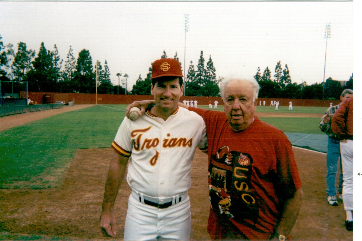at the 1996 USC Alumni Game.