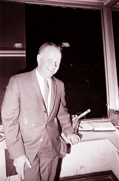 Vin Scully's sidekick for the Dodgers' first three decades in Los Angeles.