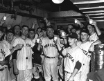 Celebrating their 1960 College World Series championship