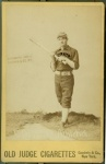 Played for Altoona in 1886 and became one of the premier third baseman of baseball's pioneer era.