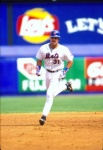 in his home run trot, one of 220 he made for the Mets