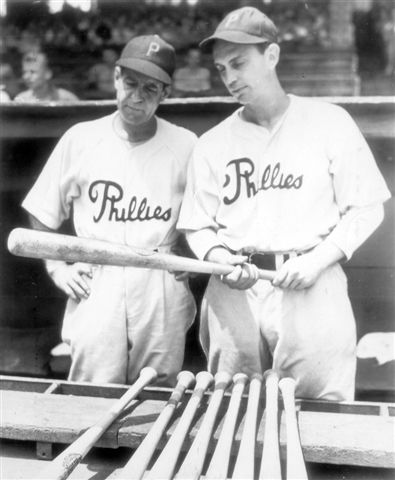 """Manager Harris, left, was not enamored of the """"commando"""" training. The acquisition of 4-F players like Dahlgren (right) was crucial to the team's ability to win."""