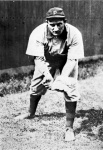 In the first twentieth-century World Series (1903), he made the final out.