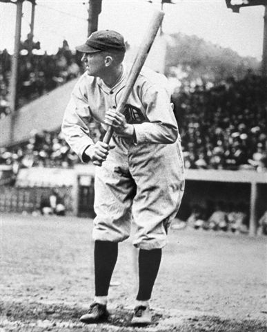 His batting average in 1922 was eventually recorded officially as .400 but only after much debate and furor.