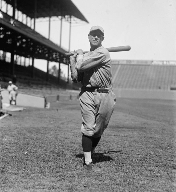 His batting average was above the .400 mark for all but two games of the 1922 season.