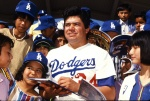 A fan favorite for the Los Angeles Dodgers in the 1980s.
