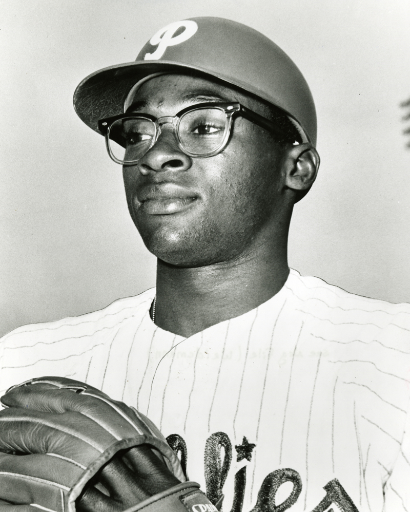 Passed over by both NL teams in the 1961 expansion draft, went on to win NL Rookie of the Year for the Phillies in 1964.