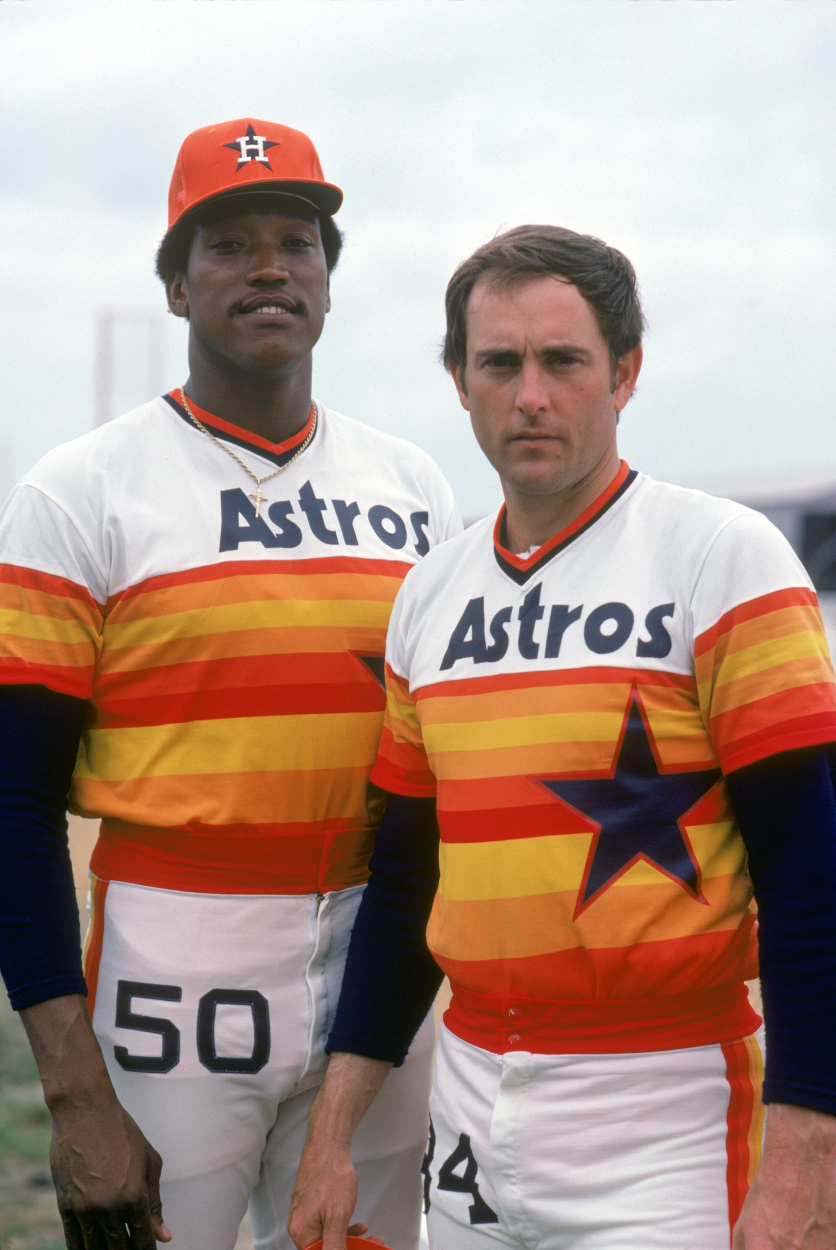 A strikeout-hurling tandem for only half the 1980 season due to Richard's career ending- stroke.