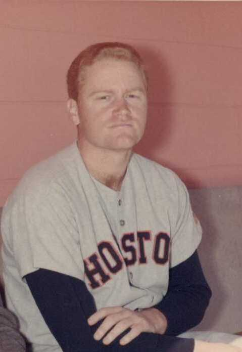 Houston Astros' lone All-Star in 1968; he pinch-hit in the sixth inning.