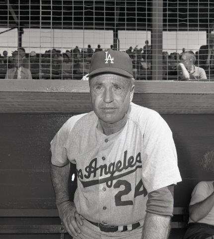 To avoid a potential Dodgers-Giants playoff series in 1966, Dodgers manager was faced with a must-win situation in the second game of the doubleheader in Philadelphia.