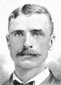 Despite throwing left-handed, Syracuse Stars third baseman would be a regular at that position throughout the 1880s.