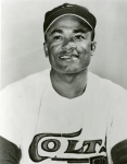 After six seasons with the Pittsburgh Pirates, Mejias returned to Texas as a member of the expansion Houston Colt .45s in 1962. He enjoyed his best season batting .286 with 24 home runs and driving in 76.