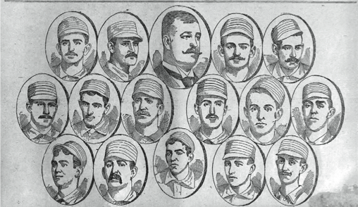 American Association champions came from last place in 1889 to the pennant.
