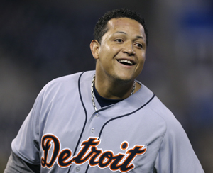 In 2012, Detroit Tigers slugger became the first player in 45 years to win the Triple Crown.