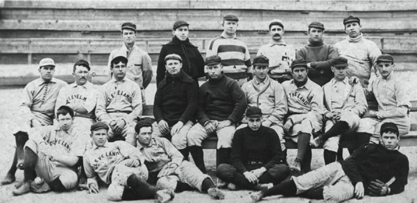 many of whom were also members of the 1897 team.
