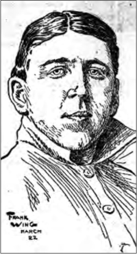 First baseman and manager of the American Association St. Paul Saints 1902–05, helming two pennant winners. He was soon embroiled in a scam that involved him acting as a front for club owner George Lennon.