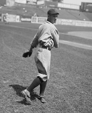 His 67 sacrifices in 1917 are still an MLB record. Author Mark Halfon says,