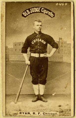 played with the Chicago Nationals from 1885 through 1900—except for 1890, when he played with the Pirates in the Players' League.