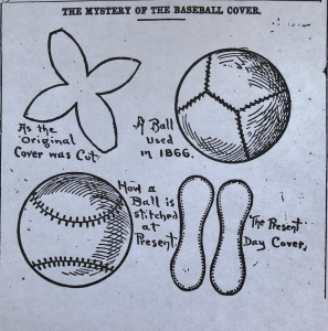 1908 baseball cover design